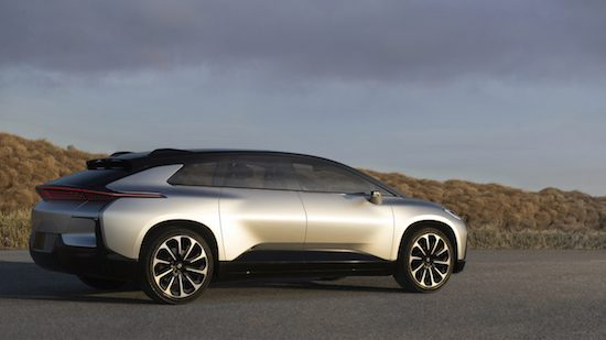 Faraday Future kiest voor China