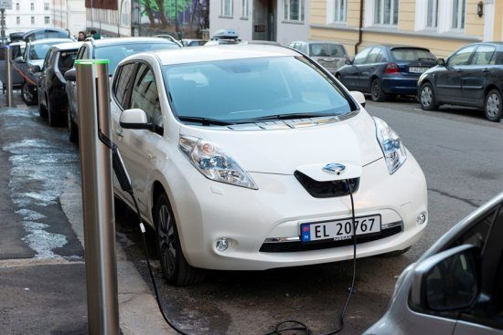Nissan Leaf in Noorwegen