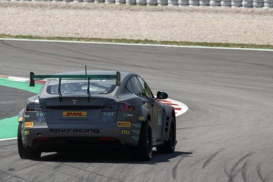 Electric GT op Barcelona