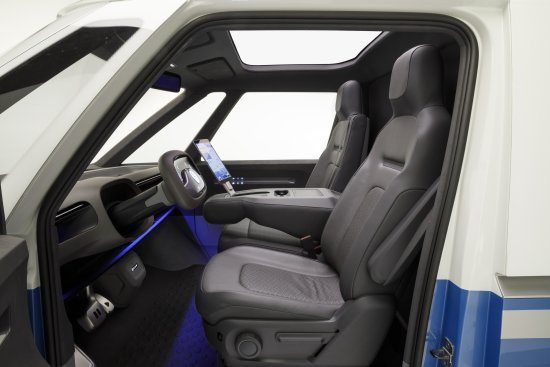 VW ID Buzz Cargo interieur