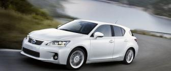 'Lexus CT200h is de zuinigste hybride occasion'