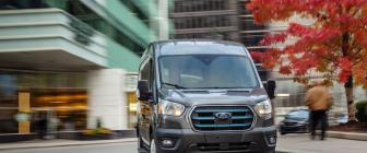 Ford E-Transit is volledig elektrisch